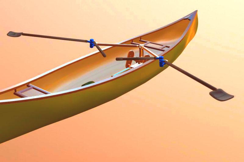 3D Canoe Wide